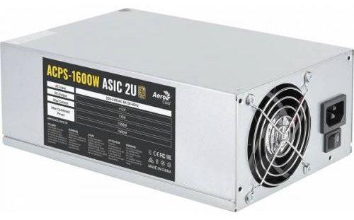 Блок питания 1600 Вт Aerocool Miner ASIC 2U [ACPS-1600W ASIC 2U]