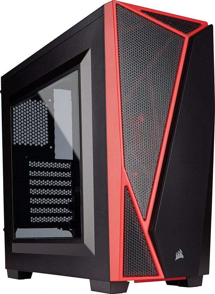 Корпус Corsair Carbide SPEC-04 [CC-9011107-WW] черно-красный