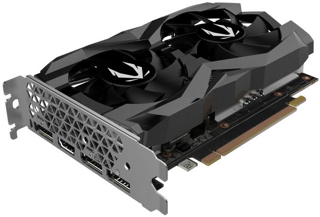 Видеокарта Zotac GeForce GTX 1660 Super Twin Fan (6 ГБ 192 бит) [ZT-T16620F-10L]