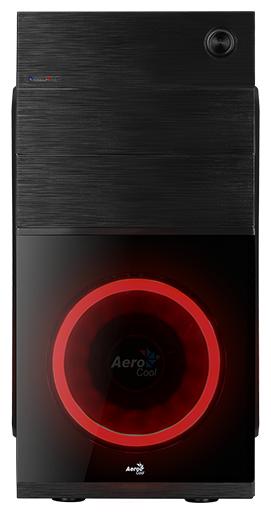 Корпус Aerocool [CS-105 RED] черный