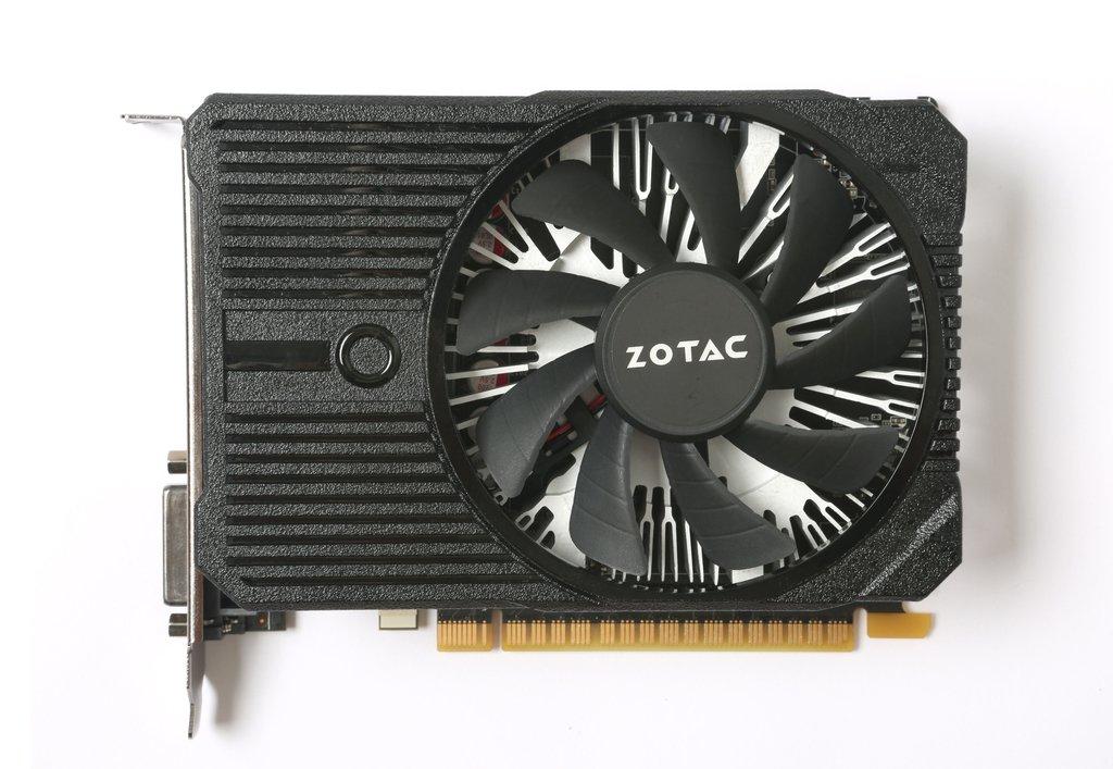 Видеокарта Zotac GeForce GTX 1050 Ti Mini (4 ГБ 128 бит) [ZT-P10510A-10L]