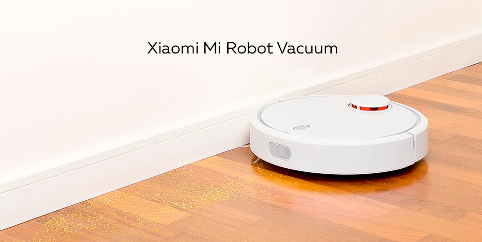 Робот-пылесос Xiaomi Mi Robot Vacuum белый