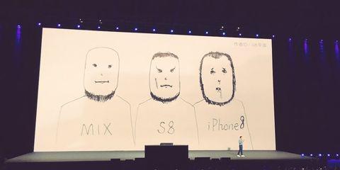 Xiaomi высмеяла iPhone на презентации своего флагмана