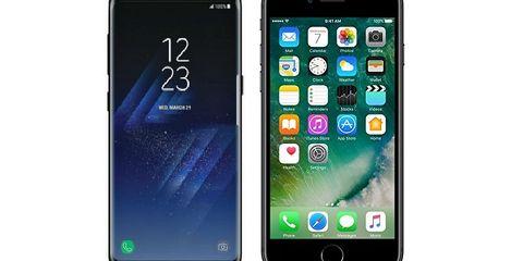 Samsung заработает на iPhone X больше, чем на Galaxy S8