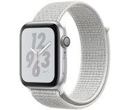 Часы Apple Watch Nike+ (GPS) 44mm серебристые (алюминий) с белым спорт.браслетом