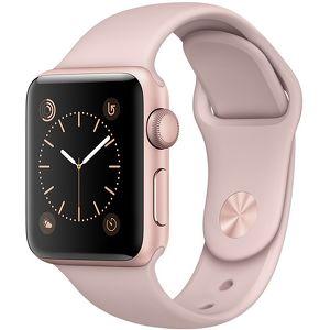 Часы Apple Watch Series 1 38mm розовые (алюминий) с розовым спортивным ремешком  (ЕСТ)