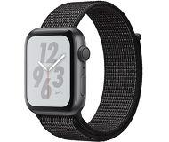Часы Apple Watch Nike+ (GPS) 44mm серые (алюминий) с черным спорт.браслетом