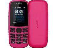 Сотовый телефон Nokia 105 (2019) розовый