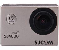 Экшн-камера SJCAM SJ4000 WIFI серебристый