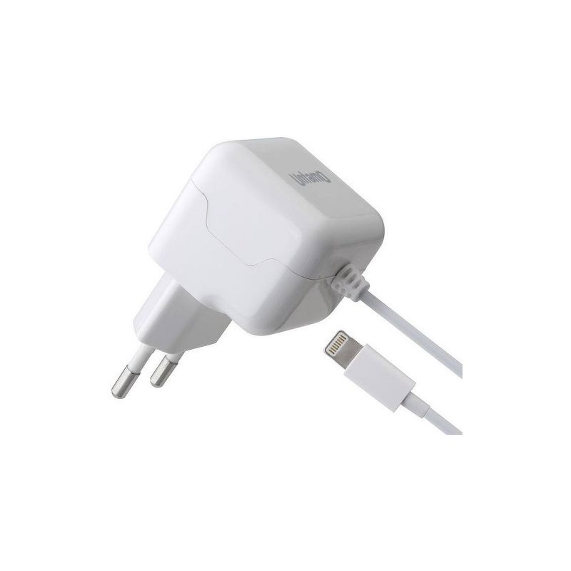 СЗУ Untamo [Lightning] для Apple, 2.1А, MFi, белый [UUNW8P2.1AWH]