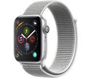 Часы Apple Watch Series 4 (GPS) 44mm серебристые (алюминий) с серебристым спорт.браслетом