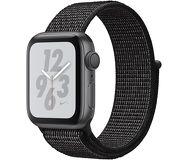 Часы Apple Watch Nike+ (GPS) 40mm серые (алюминий) с черным спорт.браслетом