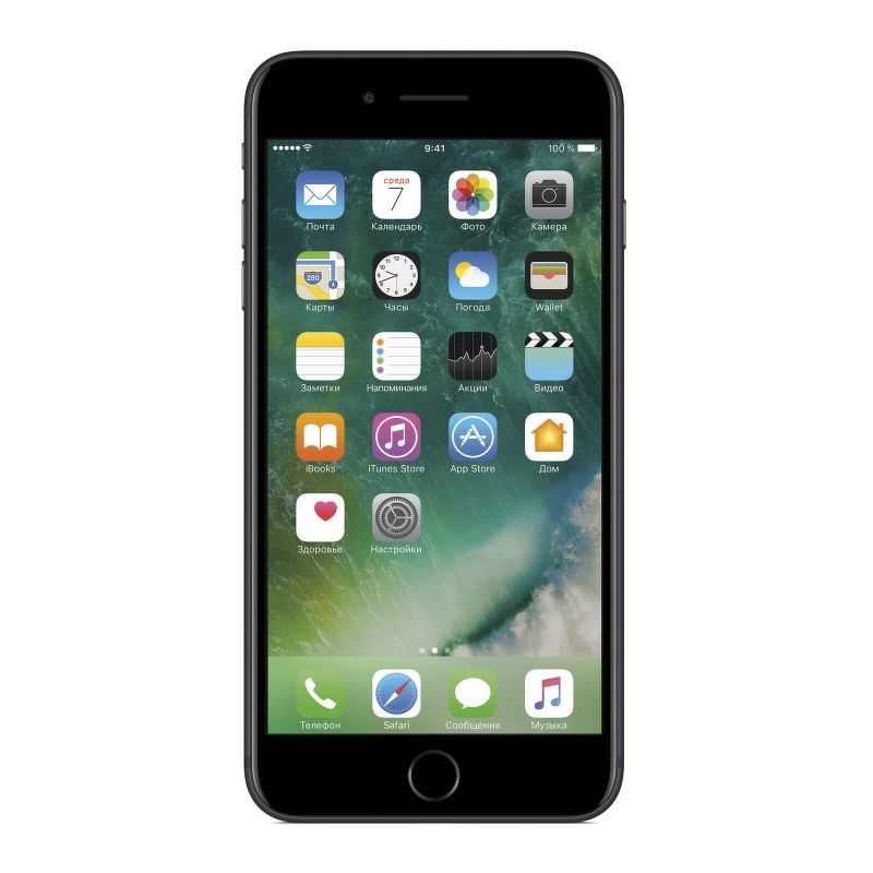 Смартфон Apple iPhone 7 Plus 256 Гб чёрный (ЕСТ)