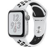 Часы Apple Watch Nike+ (GPS) 40mm серебристые (алюминий) с платиново-черным спорт. ремешком