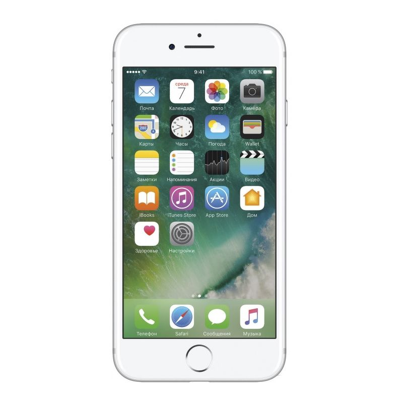 Смартфон Apple iPhone 7 32 Гб серебристый (ЕСТ)