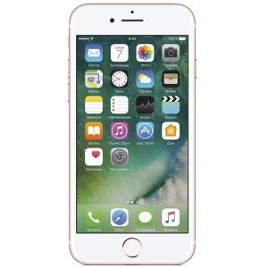 Смартфон Apple iPhone 7 128 Гб розовый (ЕСТ)