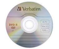 Диск DVD-R Verbatim 4,7Gb 16x