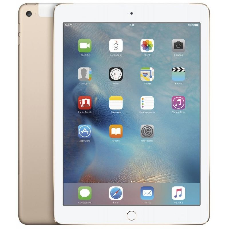 Планшет Apple iPad Air 2 16 Гб Wi-Fi + Cellular золотистый (ЕСТ)