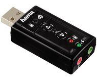 Звуковая карта Hama (H-51620) 7.1 Surround USB, черный