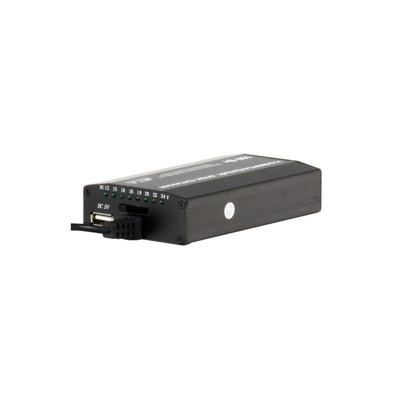 Сетевое+Автомобильное зарядное устройство Jet.A JA-PA9 Volt, USB, 100Вт