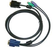 Кабель KVM D-Link DKVM-IPCB  для устройств DKVM-IP1/IP8, длина 1.8м
