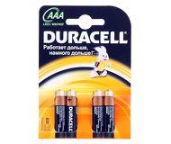 Батарейка Duracell Basic LR03-4BL AAA 4шт