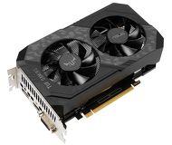 Видеокарта Asus GeForce GTX 1650 TUF OC GDDR6 (4 ГБ 128 бит) [TUF-GTX1650-O4GD6-P-GAMING]