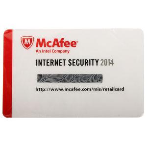 ПО McAfee Internet Security 2014 1ПК/1 Год (MIS149EC1RAO)
