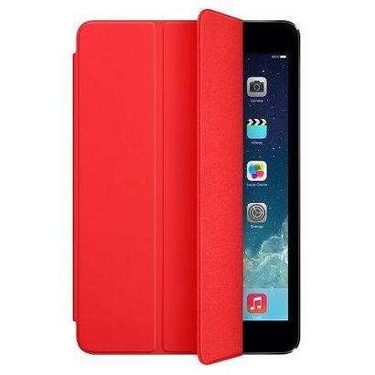 Чехол Apple iPad mini 1/2/3 Smart Cover полиуретан красный [MF394ZM/A]