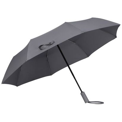 Зонт Xiaomi Mijia Smart Mechanical Anti-rebound Automatic Umbrella серый