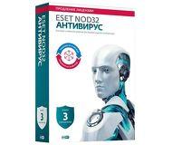 ПО ESET NOD32 Антивирус 3ПК/1год или продление 20 мес.  NOD32-ENA-2012RN(BOX)-1-1