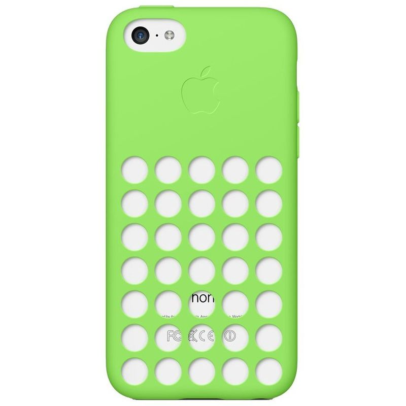 Чехол Apple iPhone 5C Case зеленый  MF037ZM/A