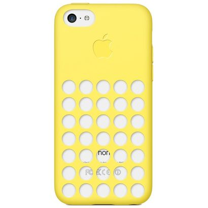 Чехол Apple iPhone 5C Case желтый [MF038ZM/A]