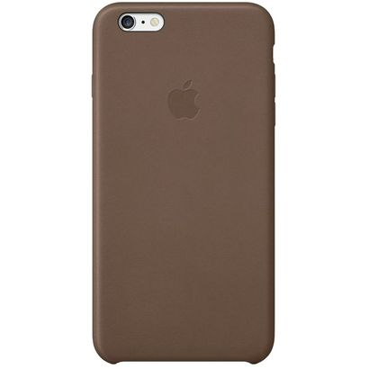 Чехол Apple iPhone 6 Plus/6S Plus Case кожа коричневый [MGQR2ZM/A]