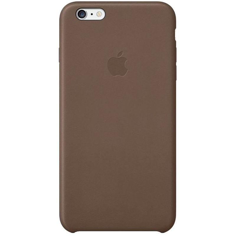 Чехол Apple iPhone 6 Plus/6S Plus Case кожа коричневый  MGQR2ZM/A