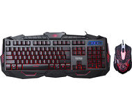 Комплект клавиатура + мышь Marvo KM400 проводной, черный