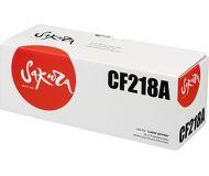 Тонер-картридж Sakura CF218A 18A для HP M104a/M132a, черный, 1400 стр.