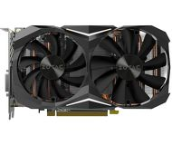 Видеокарта Zotac GeForce GTX 1080 Mini (8Gb 256bit)  ZT-P10800H-10P  б/у