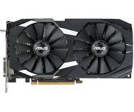 Видеокарта Asus AMD Radeon RX 580 Dual OC (4 ГБ 256 бит) [DUAL-RX580-O4G]