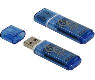 Флеш диск Smartbuy 64GB Glossy SB64GBGS-B Синий