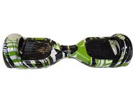 Гироскутер Hoverbot A-3 Light зеленый с рисунком [GA3LGM]