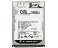 "Жесткий диск 250Gb 2.5"" SATA Western Digital WD2500BEKT б/у"