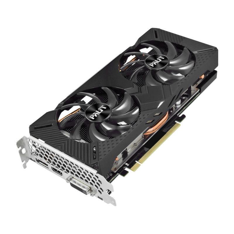 Видеокарта Palit GeForce GTX 1660 Super GamingPro (6 ГБ 192 бит) [NE6166S018J9-1160A]