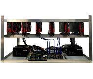 Риг для майнинга ZEON RX560x4Gbx6