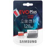 Карта памяти microSDXC 128 ГБ Samsung EVO PLUS [MB-MC128HA/RU] Class 10 UHS-I