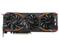 Видеокарта Gigabyte GeForce GTX 1080 WindForce OC (8Gb 256bit)  GV-N1080WF3OC-8GD