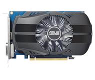 Видеокарта Asus GeForce GT 1030 OC (2 ГБ 64 бит) [PH-GT1030-O2G]