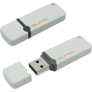 Флеш диск QUMO 16Gb Optiva 01 QM16GUD-OP1-White Белый