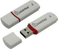 Флеш диск Smartbuy 8GB Crown SB8GBCRW-W Белый
