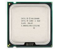 Процессор Intel Core2Duo E8400  б/у